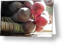 Grape Glow Greeting Card