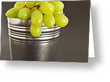 Grapes Greeting Card by Tom Gowanlock
