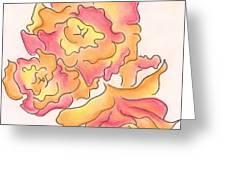 Graphic Rose Greeting Card