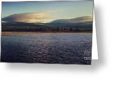 Gravel Lake Greeting Card