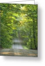 Gravel Road, Niagara Region, Pelham Greeting Card