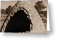 Graveyard Dome Greeting Card