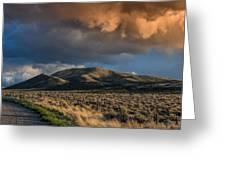 Great Basin Cloud Greeting Card