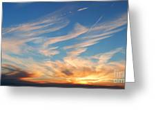 Great Canadian Sunset Greeting Card