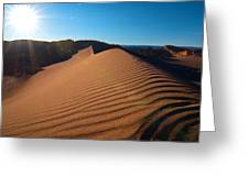 Great Dune - Valle De La Luna - Atacama Desert Greeting Card