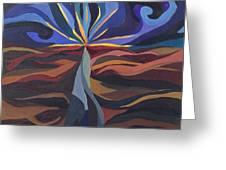 Great Light Dawns Greeting Card