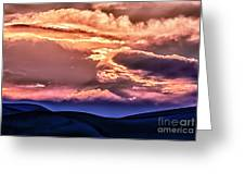 Great Sand Dunes Ascention Greeting Card