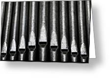 Great Set Of Pipes Greeting Card