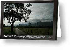 Great Smoky Mountains National Park 3 Greeting Card