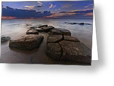 Great South Bay Sunset Greeting Card