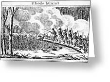 Great Swamp Fight, 1675 Greeting Card