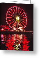 Great Wheel  Greeting Card
