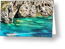 Greece Corfu Island Greeting Card