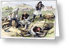 Greece: Grave Robbers Greeting Card