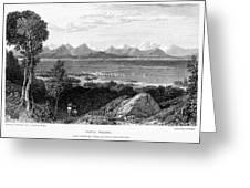 Greece: Levkas, 1832 Greeting Card