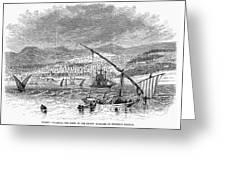 Greece: Salonika, 1876 Greeting Card by Granger