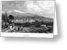 Greece: Yanina, 1833 Greeting Card by Granger
