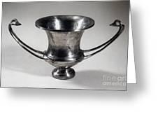 Greek Drinking Cup Greeting Card