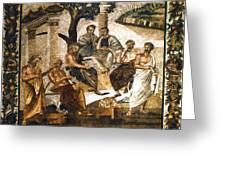 Greek Philosophers Greeting Card