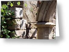 Green Archway Greeting Card