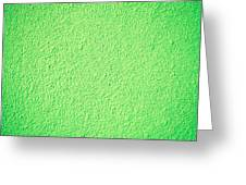 Green Background Greeting Card