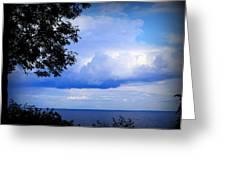 Green Bay Water View Greeting Card