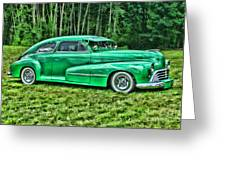 Green Classic Hdr Greeting Card