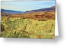 Green Mountains Greeting Card