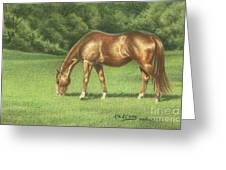 Green Pastures Greeting Card