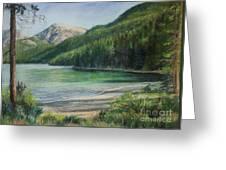 Green River Lake Greeting Card
