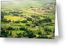 Green Valley Greeting Card