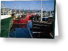 Greencastle, Lough Foyle, Co Donegal Greeting Card