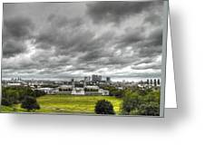 Greenwich And Docklands Hdr Greeting Card