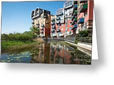 Greenwich Millennium Village Greeting Card