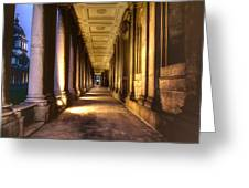 Greenwich Royal Naval College  Greeting Card