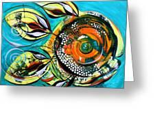 Gretchen Fish A Citrus Twist Greeting Card