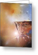 Gretzky Greeting Card by Gary McLaughlin
