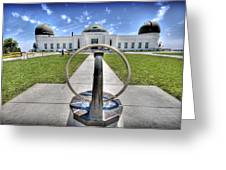Griffith Observatory 1 Greeting Card