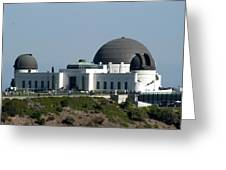 Griffith Observatory II Greeting Card