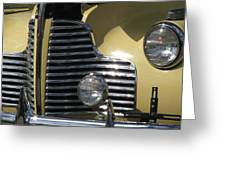 Grille Greeting Card