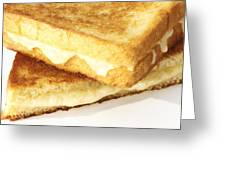 Grilled Cheese Sandwich Greeting Card