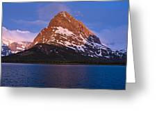 Grinnel Point At First Light Greeting Card