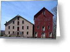 Gristmill At Prallsville Mills Greeting Card