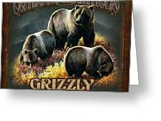 Grizzly Traditions Greeting Card by JQ Licensing