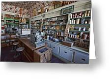Grocery Store Of Yesteryear - Virginia City Montana Ghost Town Greeting Card
