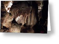 Grotte Magdaleine Sout France In Ardeche Greeting Card