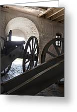 Ground Floor Cannons Greeting Card