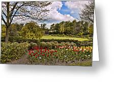 Grounds At Leeds Castle  Greeting Card