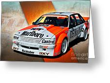 Group C Vk Commodore Greeting Card