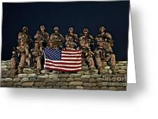 Group Photo Of U.s. Marines Greeting Card